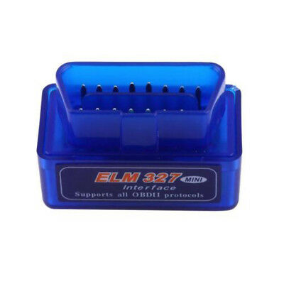 Mini ELM327 V2.1 OBD2 II Bluetooth Diagnostic Car Auto Interface Scanner