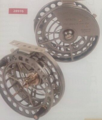 """NEW J.W.YOUNG CENTRE PIN REEL SUPER LIGHTWEIGHT 4 Inch X 0.75"""""""