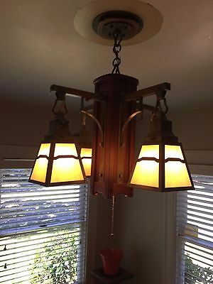 Old California Lighting  solid mahogany with solid brass hardware Chandeliers