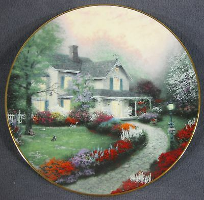 Home Sweet Home Home is Where the Heart Is Thomas Kinkade Collector Plate