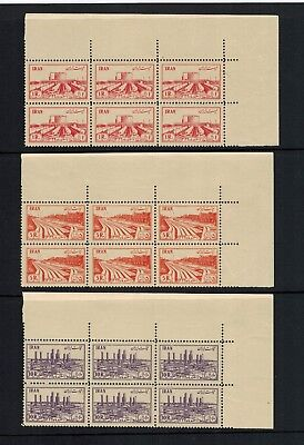 Persia 1953 Nationalization of Oil Industry   MNH   BLOCK OF 6