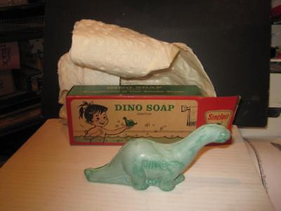 Sinclair Dino Soap (Castile) Brontosaurus Shaped Unused Org Box & Org Wraping