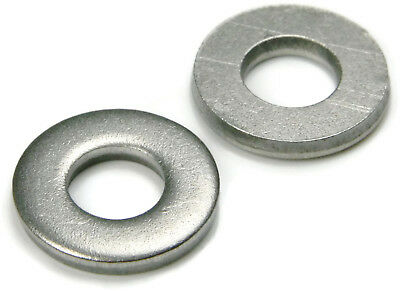 """1/4"""" Extra Thick Flat Washers 18-8 Stainless Steel - QTY 25"""