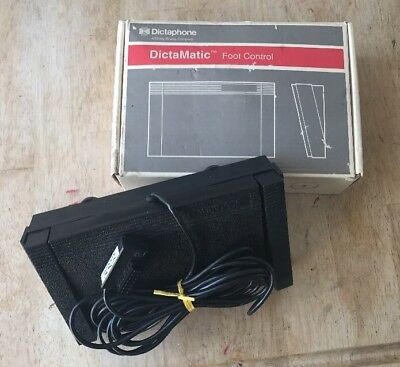 NEW Dictaphone DictaMatic Foot Control Pedal #177557