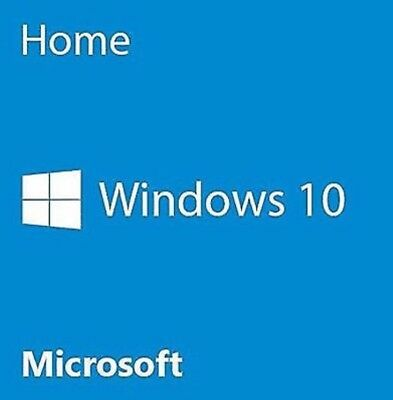 Microsoft Windows 10 Home 32/64bit Genuine Activation License Key