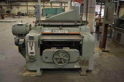 "Whitney S-290 40"" x 8"" Helical Head Planer"