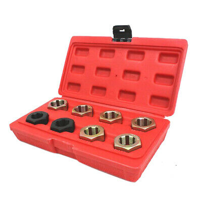 Axle Spindle Fractional & Metric Rethreading Set Kit Complete 8PC Automotive