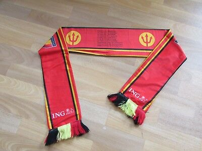 ING Belgie Belgium Possibly Promotional Thinner Silk Type Material Scarf