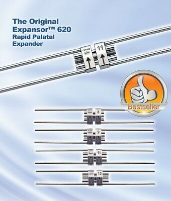 Leone Expansor 620 -  Rapid Palatal Expansion screw { 13 mm. of expansion }
