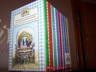 9 NEW Books Boxed Set Little House on the Prairie by Laura Ingalls Wilder