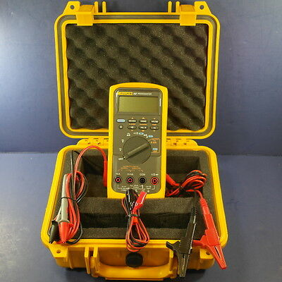 Fluke 787 Processmeter, Excellent condition, Hard Case, Screen Protector