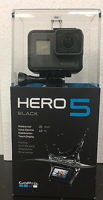 New Sealed GoPro HERO5 Black 12 MP Waterproof 4K WiFi Camera Camcorder CHDHX-501
