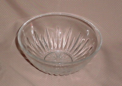 "Princess House Highlights Lead Crystal 7"" Round Serving Bowl #861"