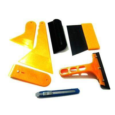 7 in 1 Car Window Film Tent Tools Squeegee Scraper Set Kit Car Window Home Tint