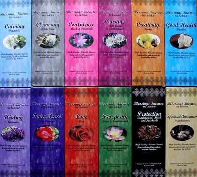 1 OR 12 PACKS Bulk Sticks GOLOKA Incense 12 SCENTS CHOOSE MIXED Spiritual Wicca