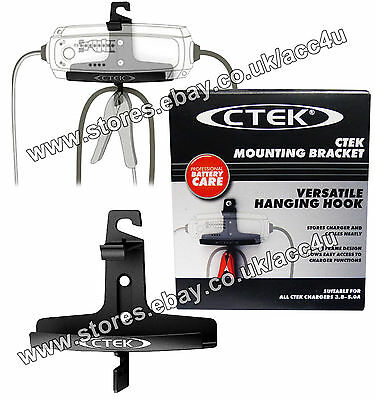 CTEK Charger Storage Wall Hanging Mounting Bracket For CTEK MXS 3.8 & MXS 5.0