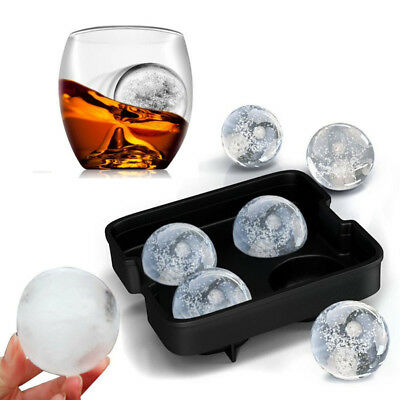 Silicone Ice Cube Round Whiskey Cocktail Frozen Tray Ice Ball Maker Party Tool J