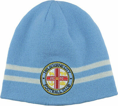 Melbourne City FC A League Reversible Beanie 2 in 1 Design