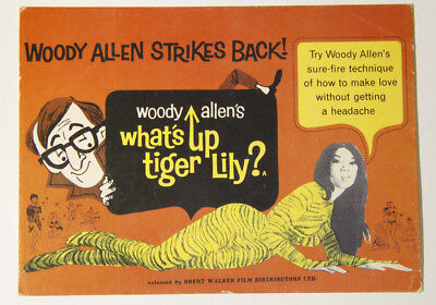 L000146 Unwritten Postcard / What's Up Tiger Lily ? / Woody Allen