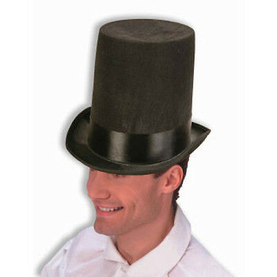 Abraham Lincoln Black Stovepipe Top Hat Costume Accessory Reenactment