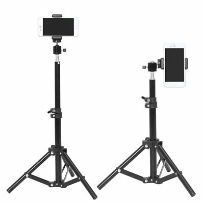 Studio Photography Light Flash Stand Foldable Support Tripod Kit For Phone Photo