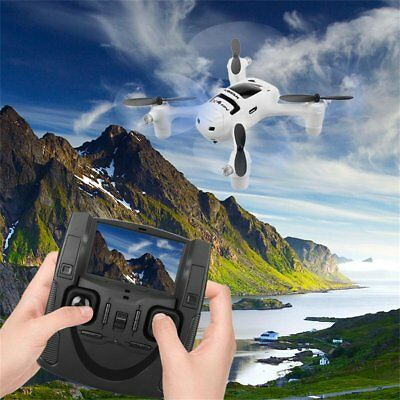 Hubsan HD Caméra LED Drone 720P 2MP 2.4G Explorateurs RC Quadcopter 6 Axes Gyro