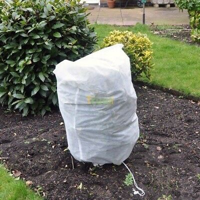 2 x Frost Protection Winter Fleece Jacket Protect Plant Shrub Retain Heat 80x60
