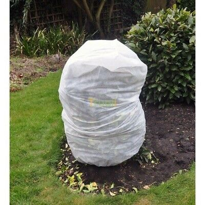 4 x Frost Protection Winter Fleece Jacket Cover Protect Plant Shrub 125cm x 80cm