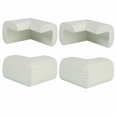 4 Pack Child Safety Cushion Protector White L3E8