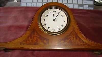 SMALL VINTAGE GERMAN H.A.C. Made in WURTTEMBERG   218X97X110MM NOT WORKING CLOCK