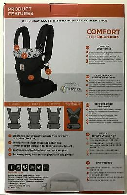 Ergobaby ADAPT Baby Carrier - Graphic Grey - FREE SHIPPING
