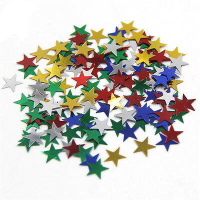 1000pcs Flame Retardant Paper Table Throwing Confetti Party Wedding Decor Star