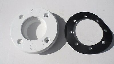 """Certikin 1.5"""" Pool Liner Front Clamp Sealing Plate With Rubber  Gasket Spc494P"""