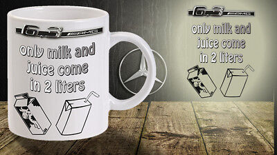 AMG mug 6.3 Mercedes eat sleep drive car German c63 v8 fast racer merc super car
