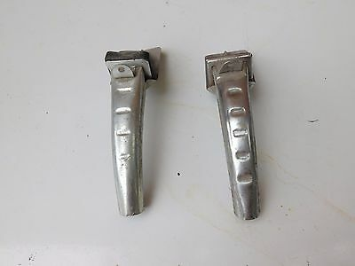 Lot of 2 Vintage Metal Oil Can Pouring Spout Opener