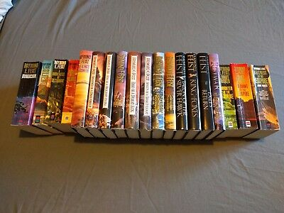 Raymond E. Feist Book Collection - 19 books (mix of paperback and hardback)