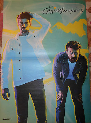 THE CHAINSMOKERS - A3 poster - Clippings Fan Sammlung