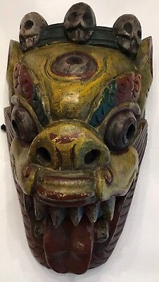 African Trible Wooden Mask