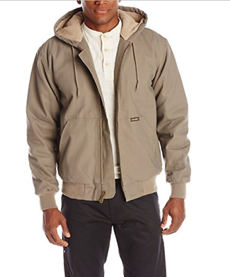 Wolverine Men's Redford Sherpa Lined Cotton Duck Jacket Gravel Grey NWT