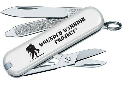 Victorinox Swiss Army Wounded Warrior Project Pocket Tool Folding Knife 55071