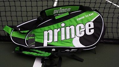 Prince Tour Team 6 Racket Bag - Brand New with tags - Video