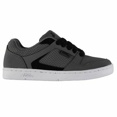 No Fear Shift Skate Shoes Juniors Charcoal Trainers Sneakers
