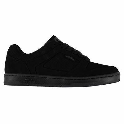 No Fear Shift Skate Shoes Juniors Black Trainers Sneakers