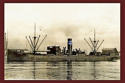 IRON KNOB BHP Shipping Australia 1920's repro Digital Photo Postcard Modern