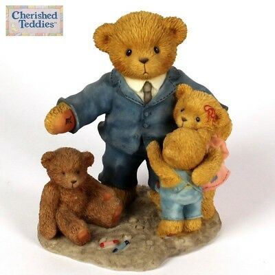 Cherished Teddies Andrew, 789747, Fathers Day 2002, When I Grow Up, Retired, Nib