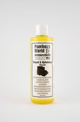 Poorboys Carpet & Upholstery Cleaner FREE UK P&P BRAND NEW PRODUCT