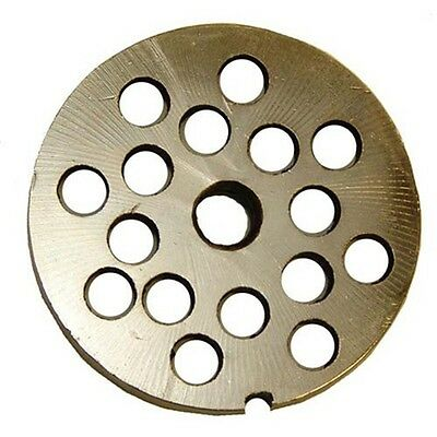 10Mm Plate For Weston #10 Or #12 Electric Meat Grinders (Stainless Steel)