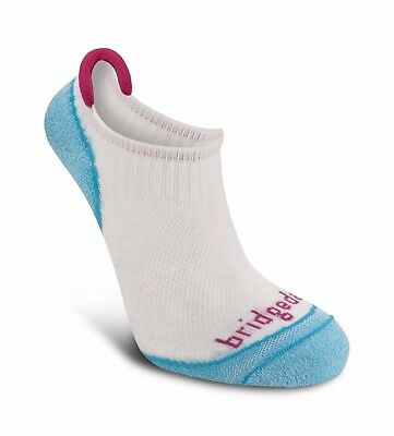 Bridgedale Ladies Run Na-Kd No Show ankle socks-Medium 5-6.5 UK