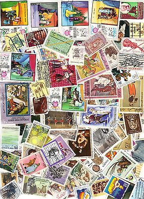 Topical stamps:  Music, 90 Different Worldwide