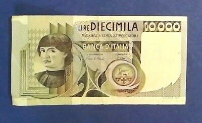 ITALY: 1 x 10,000 Lira Banknotes Extremely Fine Condition